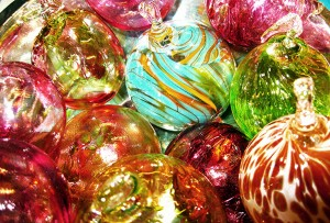 Festive Glass Blowing Spheres – Bauble Course December 2014 2pm – 5pm @ Burnham Thorpe | United Kingdom