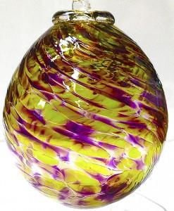 22..©SALT glass studios. Sphere.BaubleSALT glass studios. Example of Students Bauble Course work