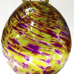 22..©SALT glass studios. Sphere.BaubleSALT glass studios. Example of Students Bauble Course work