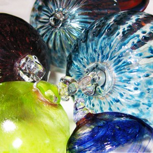 Glass Blown Festive Baubles