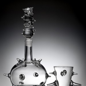 Max Lamb.RCA..Spiked Decanter 2010.