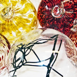 Glass Spheres and Festive Baubles
