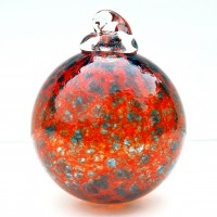 Red and Blue Bauble