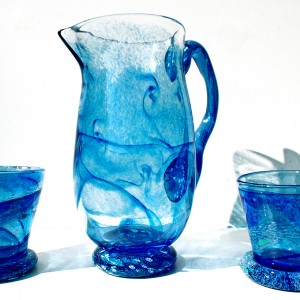 Unique Limited Edition Glass Jugs & Vessels