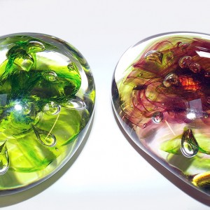 e.SALT glass studios. Example of Students Paperweight Course.10.03.14